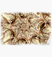 Caramel Lace Poster