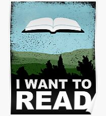 I Want to Read Poster