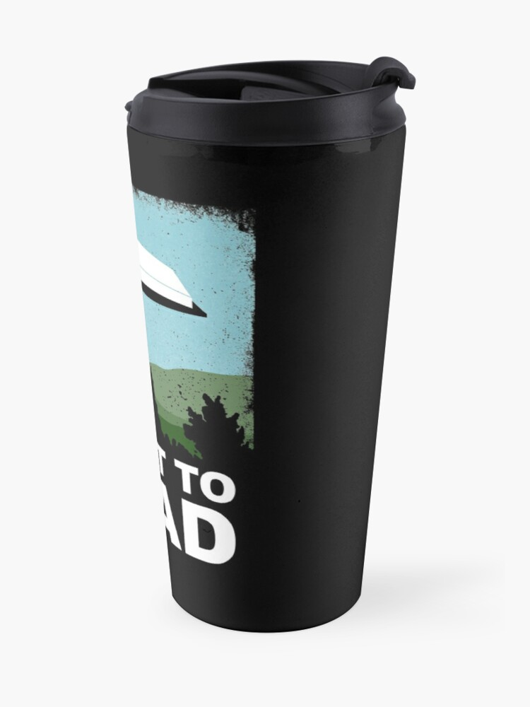 Alternate view of I Want to Read Travel Mug