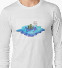 Swampy the monster Long Sleeve T-Shirt