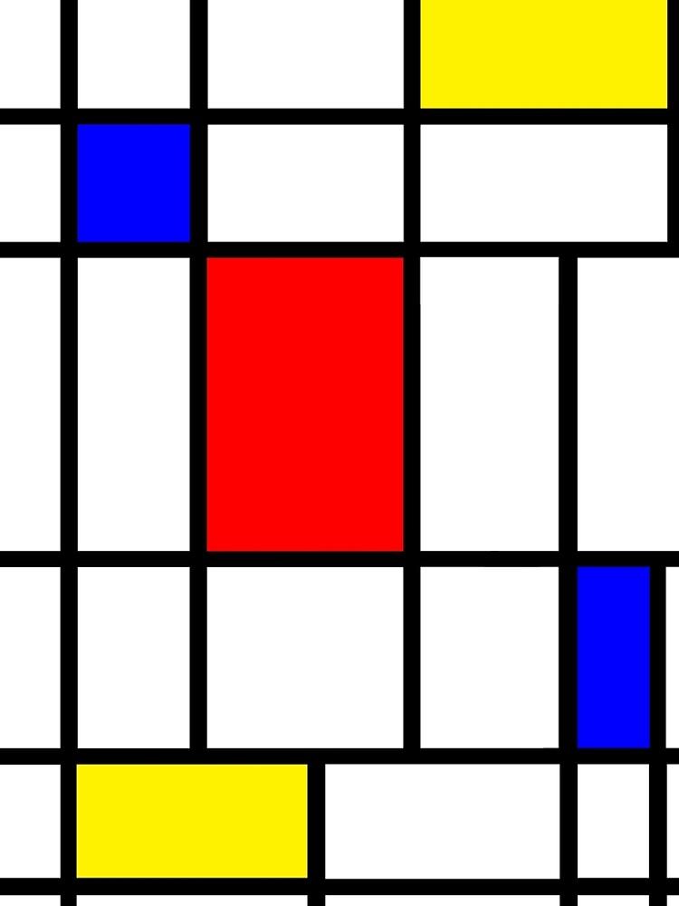 Mondrian #63 by rontrickett