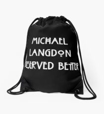Michael Langdon Drawstring Bag
