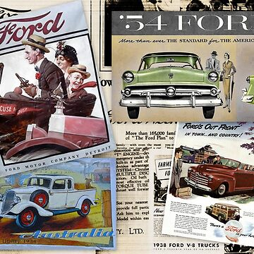 VINTAGE FORD by Tinpants