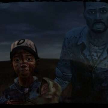 TWDG Clementine and Ghost Lee by Nowak