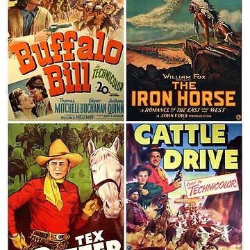 Western Movie Poster Collection #1 by rontrickett