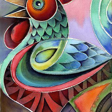 Rooster 3 by karincharlotte