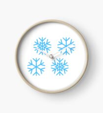 Snowflakes Clock