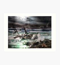 The Deadly Storm Art Print