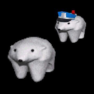 The Great Escape - me_irl polar bears by iWumbo