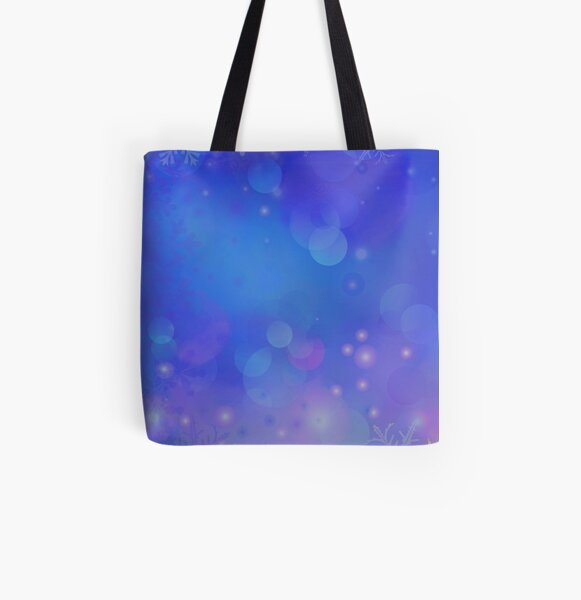 Winter Flowing All Over Print Tote Bag