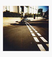 white line fever Photographic Print