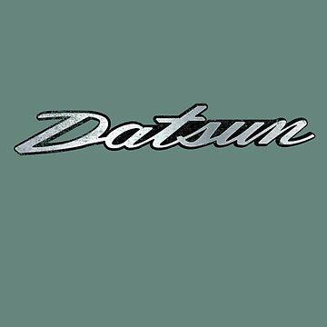 Datsun Cursive Emblem by Pootermobile04