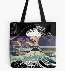der große Wellenfarbfehler Tote Bag