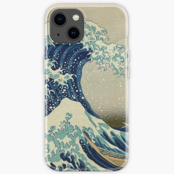 the great wave off kanagawa iPhone Soft Case