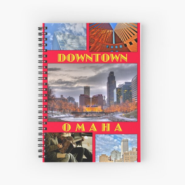 Omaha Spiral Notebook