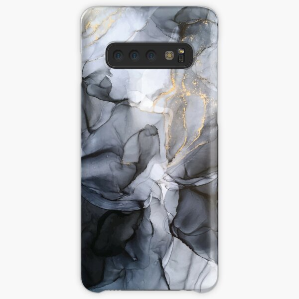 Calm but Dramatic Light Monochromatic Black & Grey Abstract Samsung Galaxy Snap Case