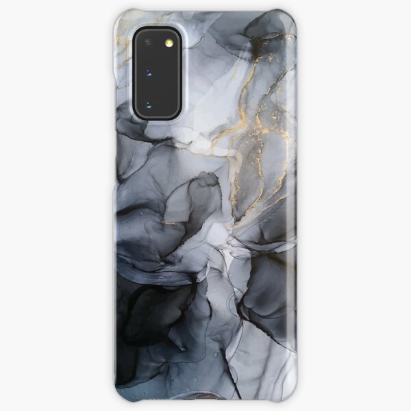Calm but Dramatic Light Monochromatic Black & Grey Abstract Samsung Galaxy Snap Case