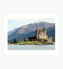 Eilean Donan Castle, Scotland, United Kingdom Art Print