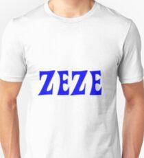 Zeze Blue Unisex T-Shirt