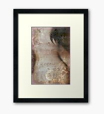 Breast Cancer Fear Framed Print