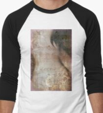 Breast Cancer Fear Men's Baseball ¾ T-Shirt