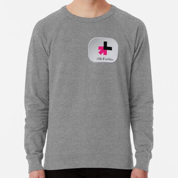 #HeForShe ||  #HeForShe show your support for the movement! Lightweight Sweatshirt