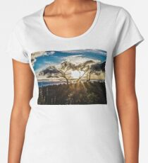 Clouds of fall Women's Premium T-Shirt
