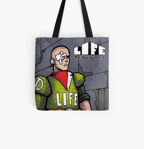 Life The Necropolis: Eye  All Over Print Tote Bag