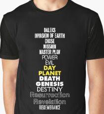 Classic Daleks Graphic T-Shirt