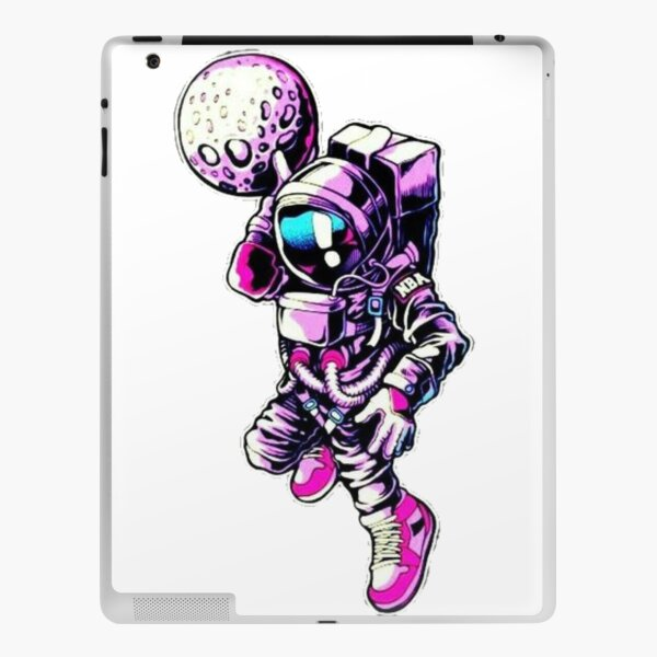Basketball astronaut iPad Skin