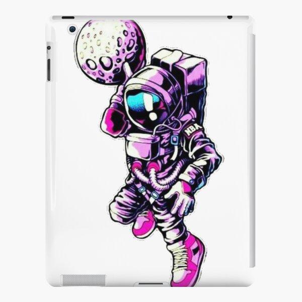 Basketball astronaut iPad Snap Case