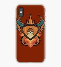Charizard pokemon shield iPhone Case