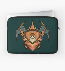 Charizard pokemon shield Laptop Sleeve