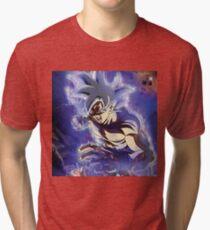 Ultra Instinct Goku Mastered - Migatte No Gokui  Tri-blend T-Shirt