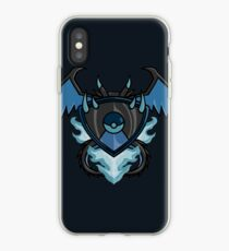 pokemon charizard x shield iPhone Case