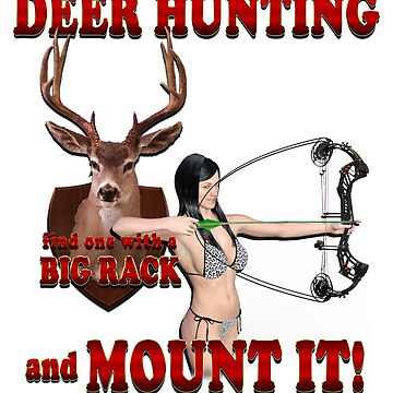Deer hunting Find One with a Big Rack and Mount It by ratherkool