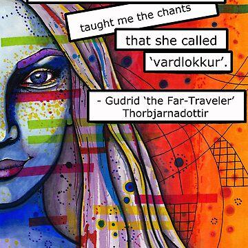 Gudrid Thorbjarnadottir by melander