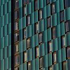 Turquoise & Blue Tower Block by wiggyofipswich