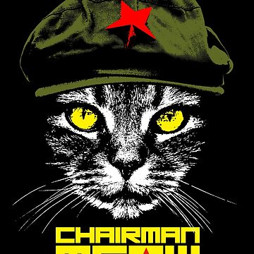 Chairman Meow by monsterplanet