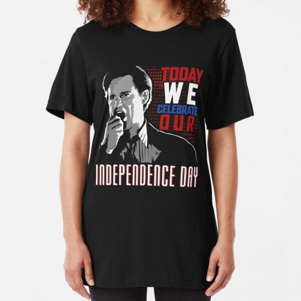 President (Independence Day) Slim Fit T-Shirt