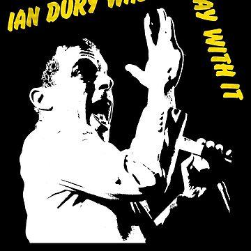 Ian Dury - Punk 1970s by tomastich85