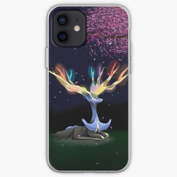 Nocturnal Xerneas iPhone Soft Case