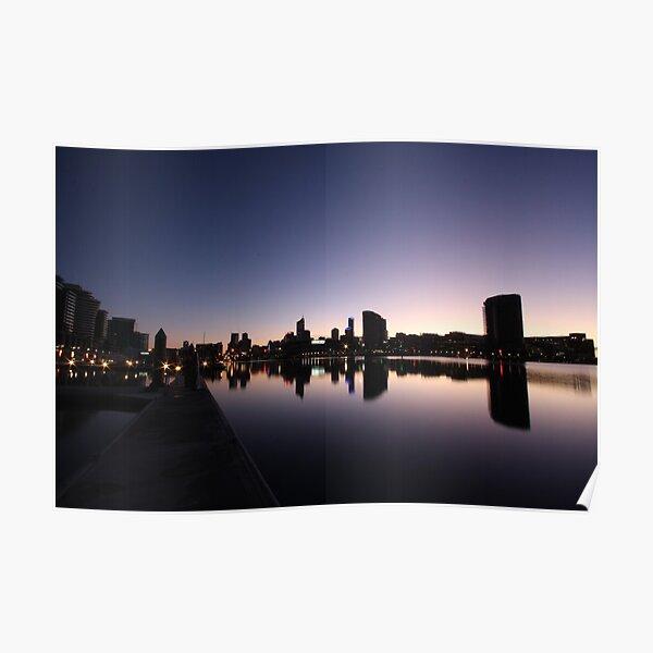 Melbourne's Docklands Poster