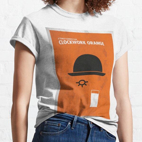 Clockwork Orange Film Poster Camiseta clásica