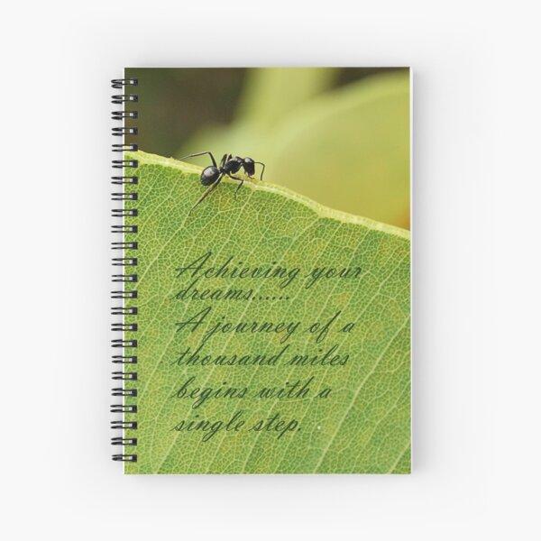 Climb Every Mountain.  Spiral Notebook