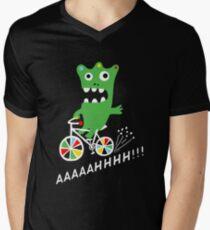 Critter Bike - dark Men's V-Neck T-Shirt