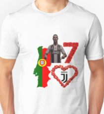 CR7, potugal, juventus........show your love for the Legend who is CR7 Unisex T-Shirt