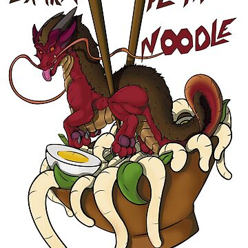 «Dragon nouille ! avec texte» par Gordrakk