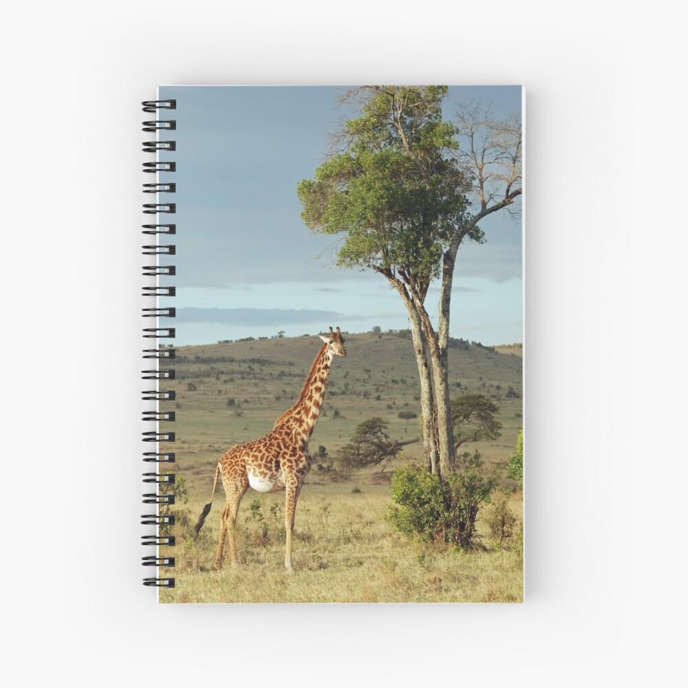 Giraffe - Masai Mara Spiral Notebook
