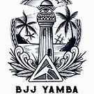 BJJ Yamba Tattoo Logo - Black by bjjyamba